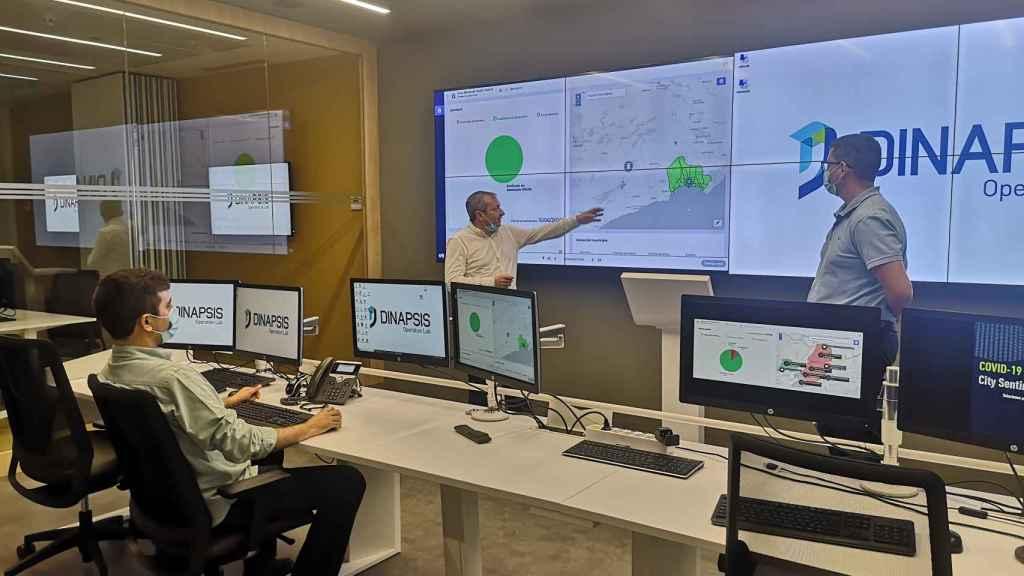 DINAPIS, la red de 'hubs' digitales de Agbar dedicada a la lucha contra el cambio climático.