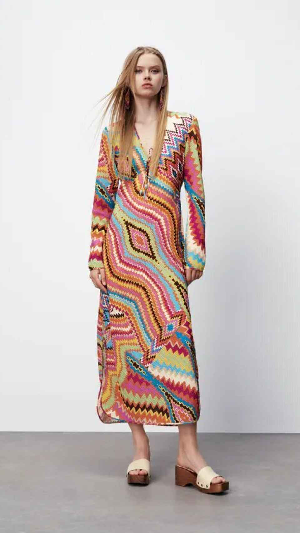 El vestido, en la tienda 'online' de Zara.