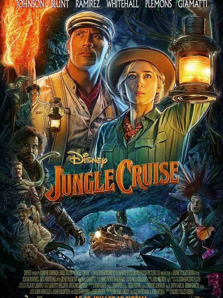 Poster de la película 'Jungle Cruise'.