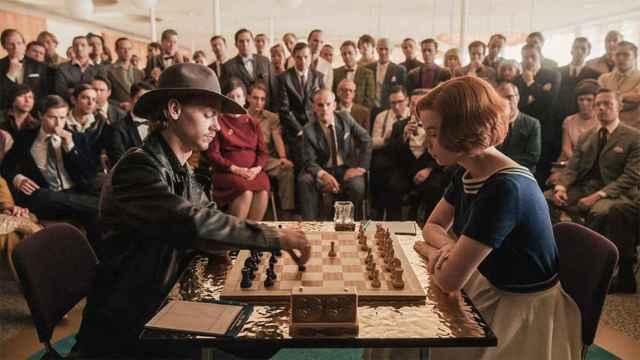 Una imagen de 'Gambito de dama'.