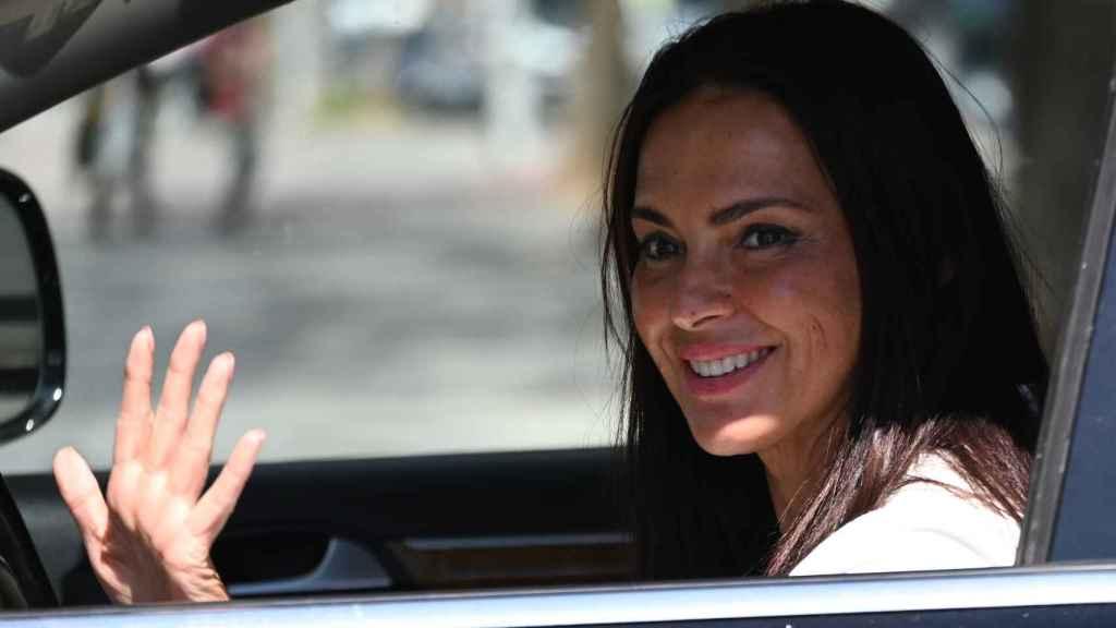 Olga Moreno en una imagen de archivo fechada en marzo de 2021.