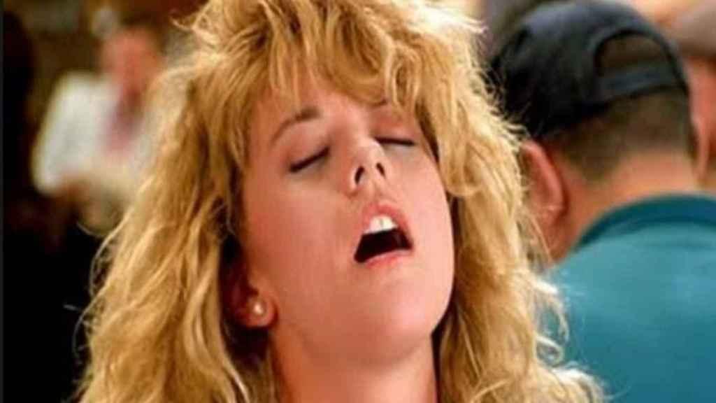 Meg Ryan en un fotograma de Cuando Harry encontró a Sally (Rob Reiner, 1989)