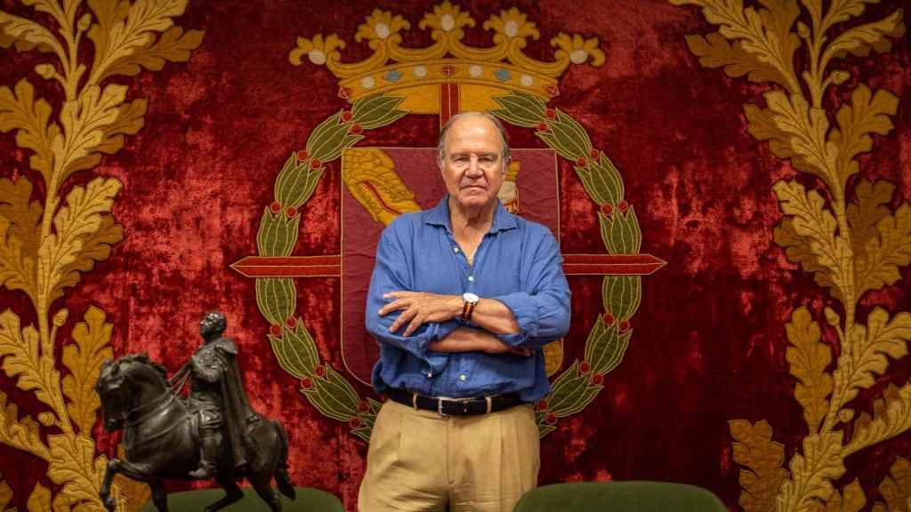 Juan Chicharro, presidente de la FNFF, ya no piensa en el exilio en caso de ilegalización.