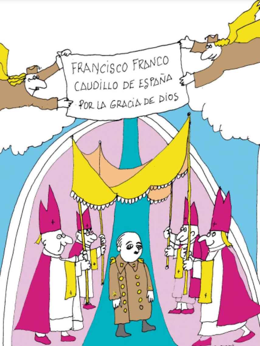 Ilustración de Peridis para el libro de Victoria Prego.