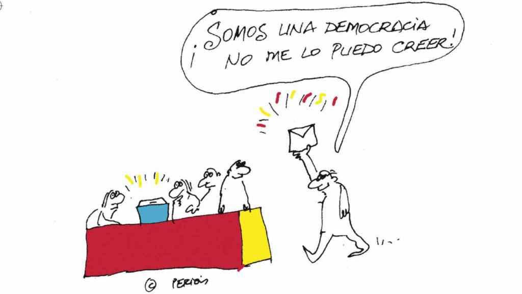 Ilustración de Peridis a Prego.