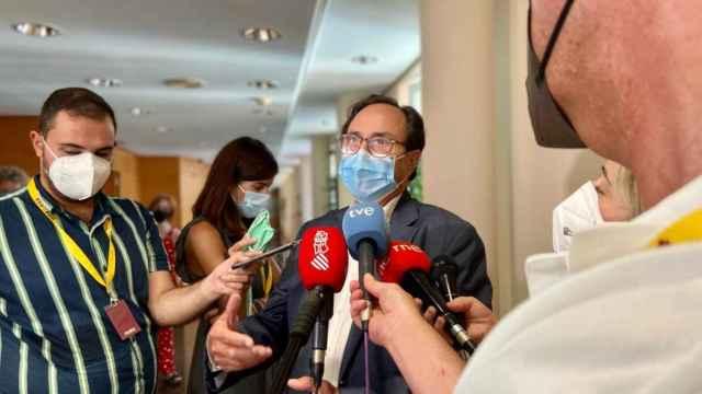 El conseller de Hacienda Vicent Soler reclama que la línea de fondo Covid tenga en cuenta la infrafinanciación autonómica.