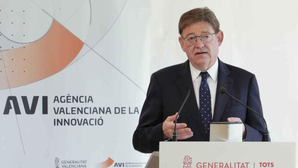 Ximo Puig en Rojales, en otra presentación de su plan Vega Renhace.
