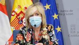 Miriam Chacón  ICAL . La consejera de Sanidad, Verónica Casado, informa sobre la situación epidemiológica en Castilla y León.  (2)