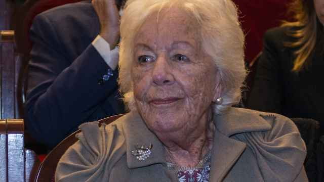 Menchu Álvarez del Valle, abuela de la reina Letizia, en una imagen de archivo.