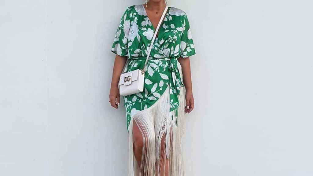 Paula Echevarría, con vestido de Coosy.