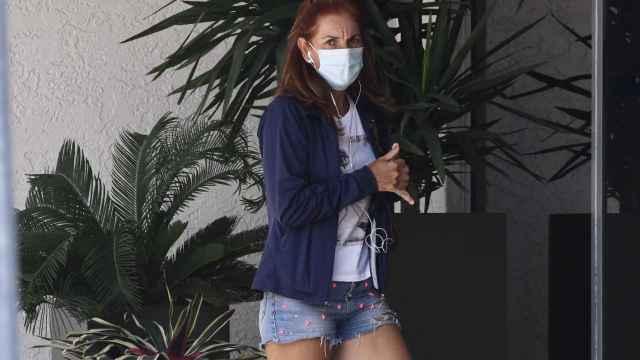 Arantxa Sánchez Vicario en una imagen de archivo en Miami.