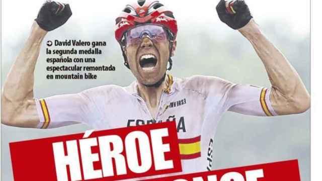 Portada Mundo Deportivo (27/07/21)