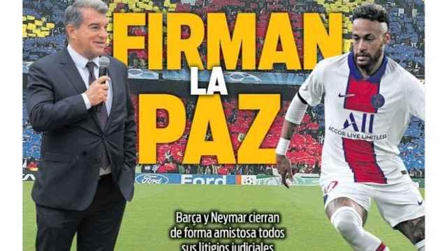 Portada Sport (27/07/21)