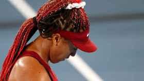 Naomi Osaka, en los Juegos Olímpicos de Tokio 2020