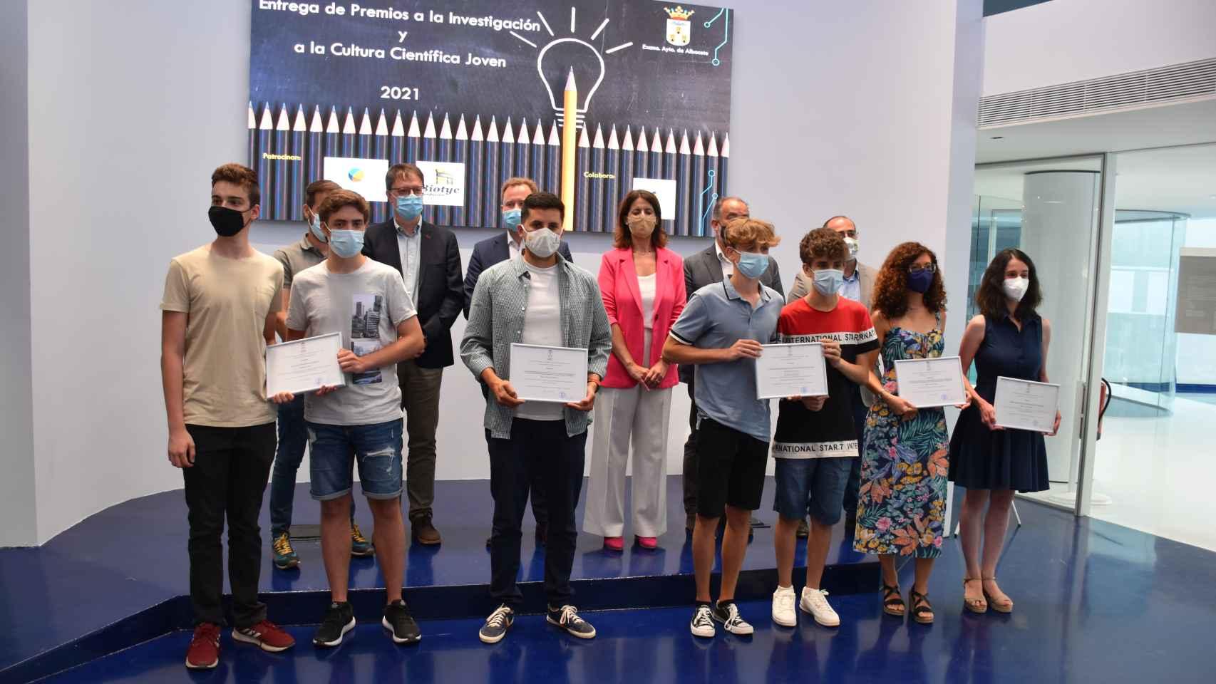 Albacete celebra la primera edición de los I Premios a la Cultura Científica Joven