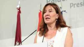 Blanca Fernández, portavoz del Ejecutivo regional / Foto: Ó. HUERTAS