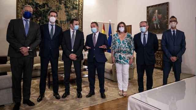 Reunión del Gobierno de Castilla-La Mancha con 'everis'