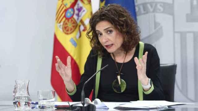 María Jesús Montero, ministra de Hacienda y Función Pública