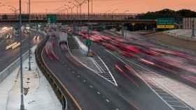 Vista de la autopista NTE en Texas.