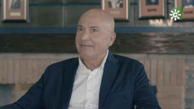 López Nieto en una imagen de su programa de Canal Sur Cara a Cara.