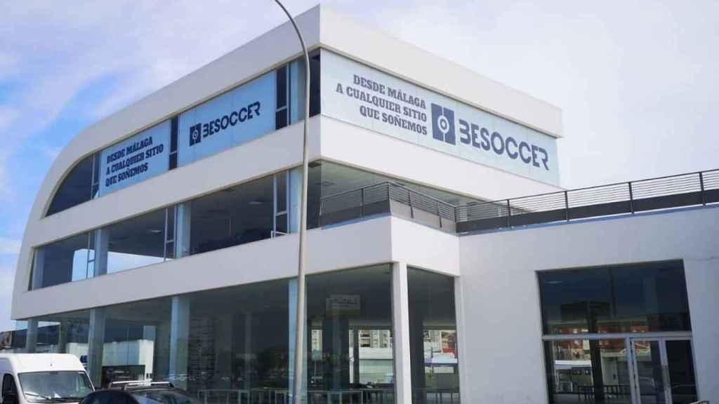 Aspecto de la nueva sede de BeSoccer en Málaga.