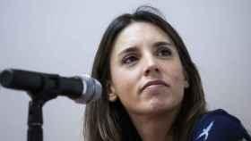 Irene Montero durante una charla en los Cursos de Verano de la Universidad Complutense 2021.