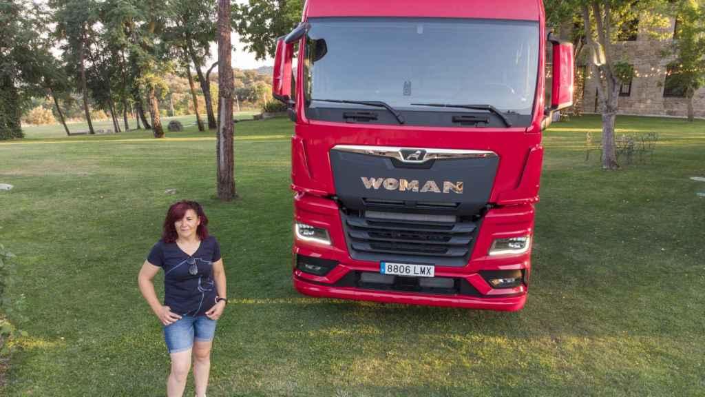 Ana es camionera desde hace 30 años.