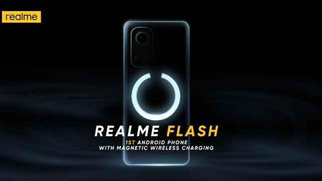 Realme Flash , móvil con carga margnética