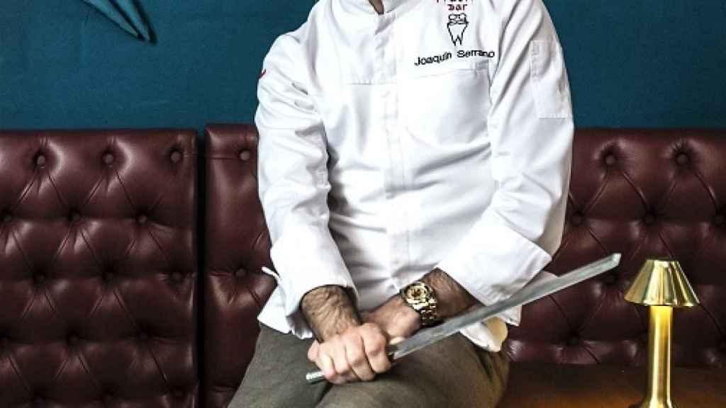 Joaquín Serrano, chef y asesor gastronómico de Inclan Brutal Bar