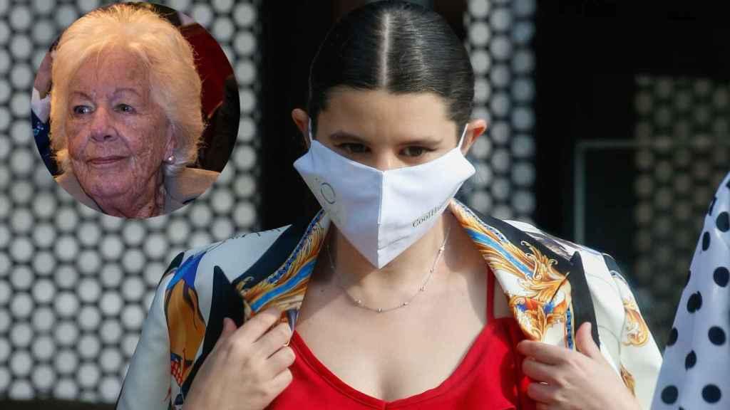 Menchu Álvarez del Valle y Carla Vigo, en un montaje de JALEOS.