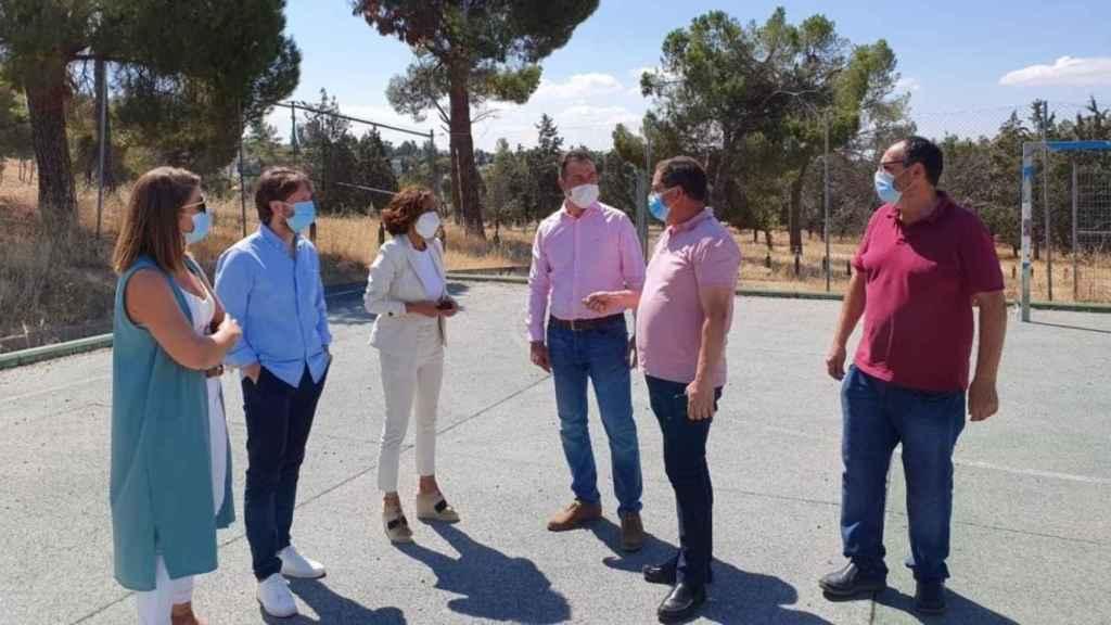 El Gobierno Castilla-La Mancha Y El Ayuntamiento De Olías Del Rey Abordan Conjuntamente Nuevos Proyectos Medioambientales.