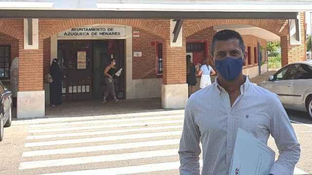 Javier Martín, concejal del PP en el ayuntamiento de Azuqueca