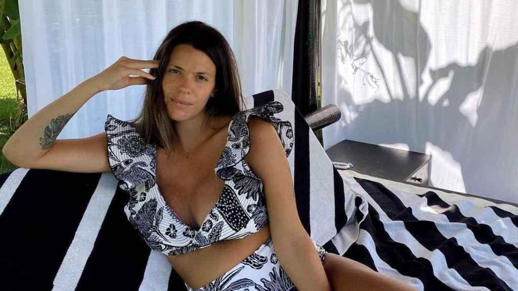 Laura Matamoros, durante su estancia en Marbella.