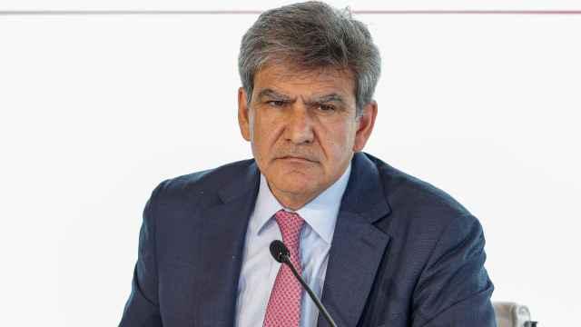 José Antonio Álvarez, consejero delegado de Santander, durante la presentación de los resultados del primer semestre.
