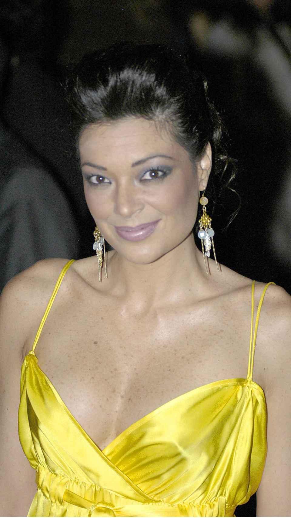 Lucía Hoyos en una imagen de enero de 2006.