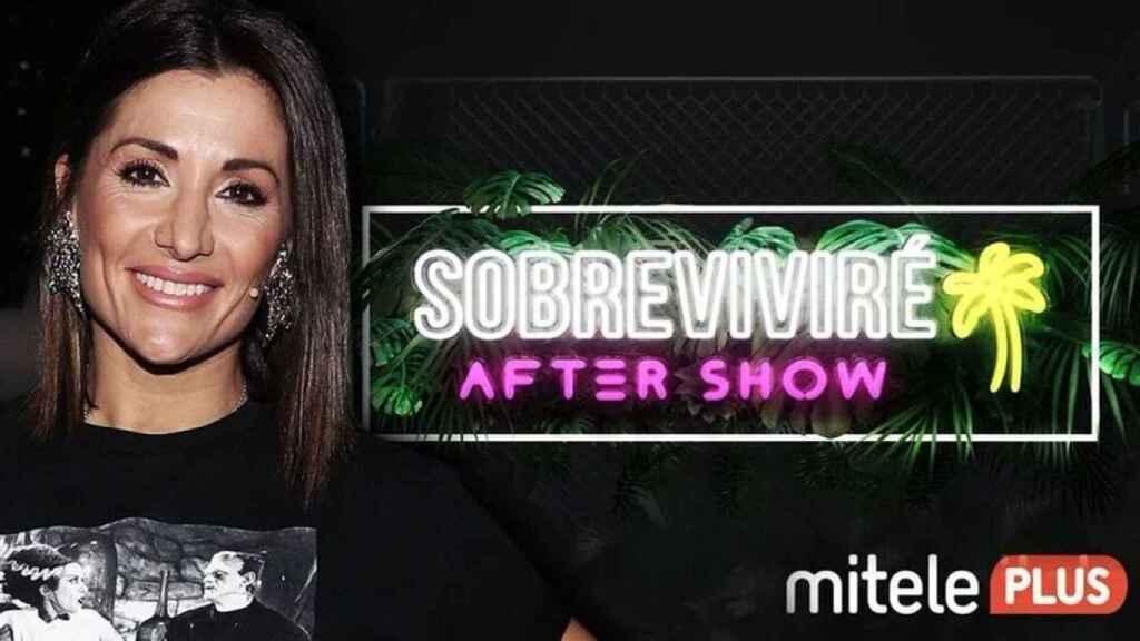 Nagore Robles presenta 'Sobreviviré' en Mitele PLUS.