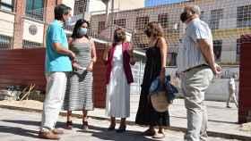 La consejera de Educación, Rocío Lucas visita las obras de colegio 'Arias Gonzalo' de Zamora 2