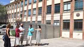 La consejera de Educación, Rocío Lucas visita las obras de colegio 'Arias Gonzalo' de Zamora 5