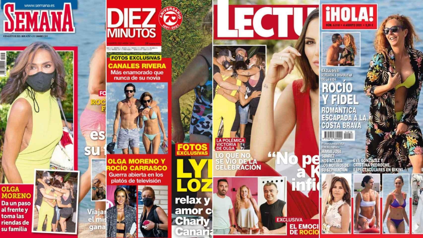 Revistas del miércoles 28 de julio de 2021.