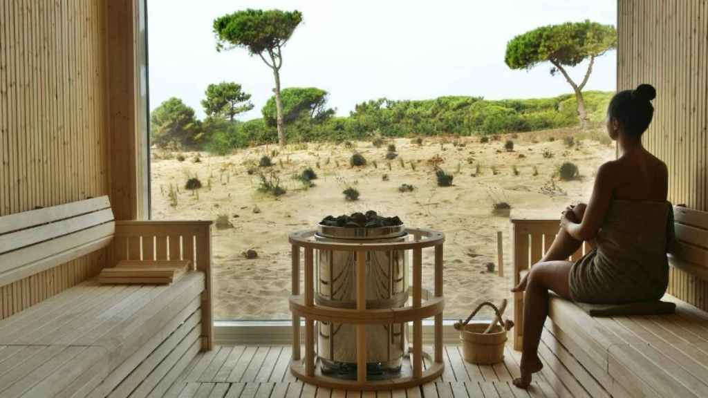 El spa que tiene el hotel donde se alojan Sandra Barneda y Nagore Robles.