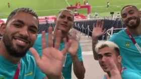 La burla de Brasil a Argentina