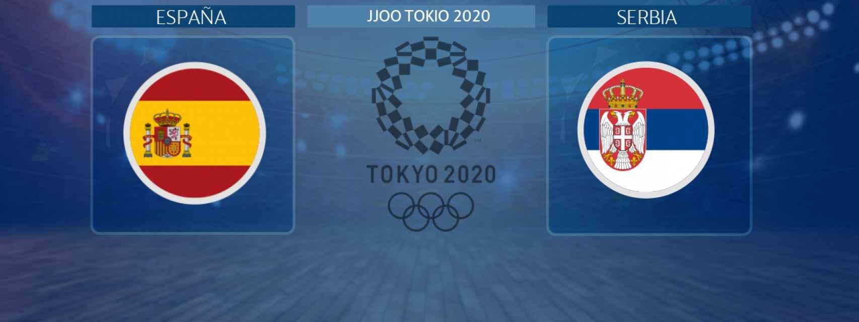 España - Serbia, partido de baloncesto femenino de los JJOO Tokio 2020