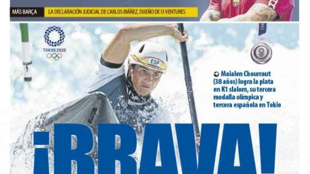 Portada Mundo Deportivo (28/07/21)