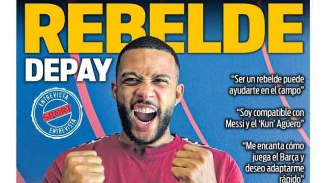 Portada Sport (28/07/21)