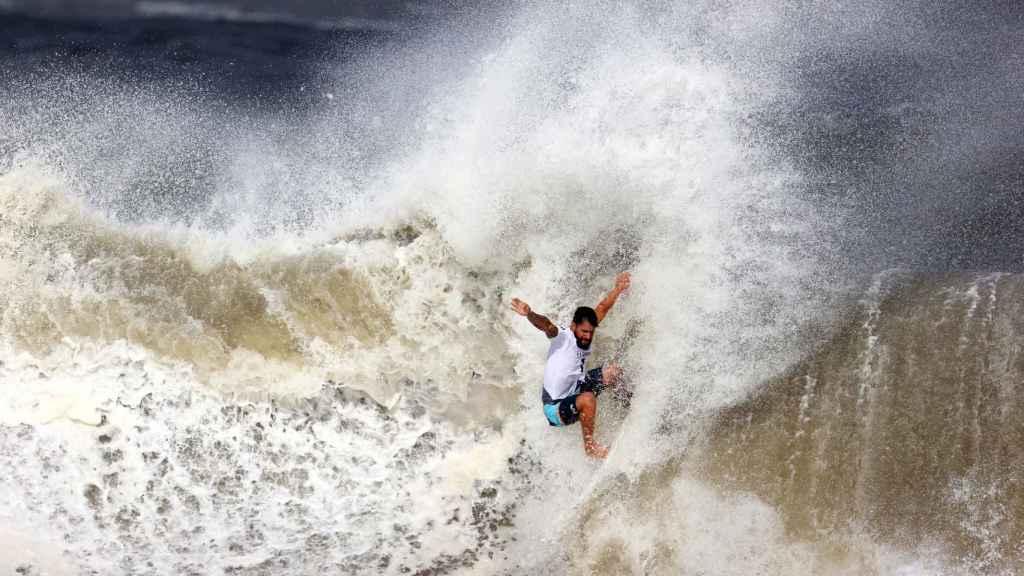 El surfista brasileño Italo Ferreira, en los Juegos Olímpicos de Tokio 2020