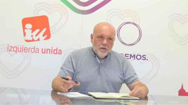 Txema Fernández, portavoz de Izquierda Unida-Podemos de Toledo
