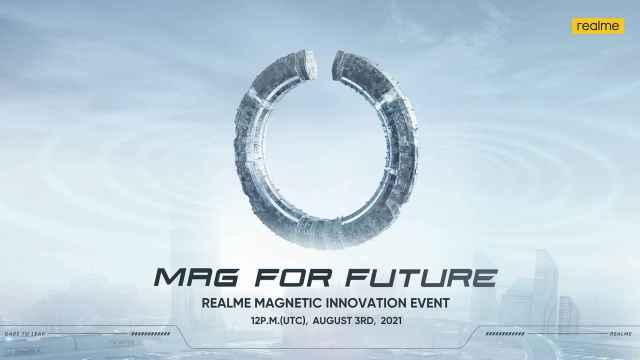 Portada del evento Magnetic Innovation de Realme.