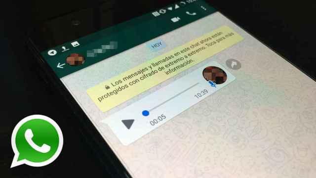 WhatsApp tiene un truco para que sólo tú escuches un audio.