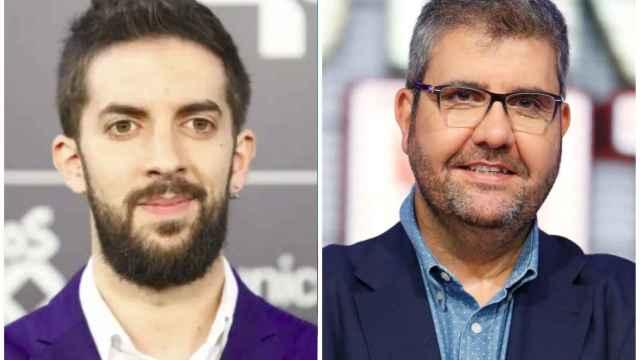 David Broncano y Florentino Fernández en un fotomontaje.