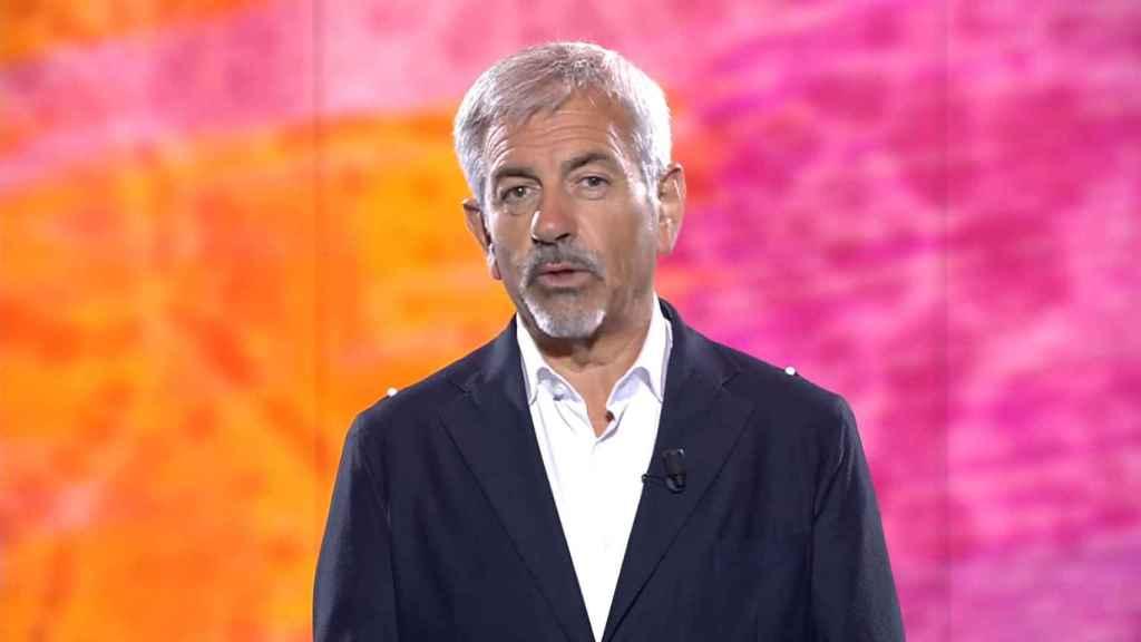 Carlos Sobera en 'Ahora, Olga'